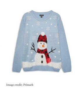 primark snowman jumper