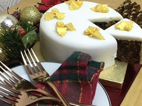 Sainbury's Christmas Cake