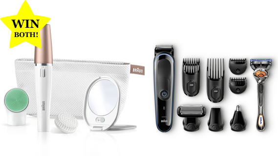WIN Braun grooming bundle