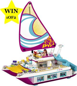LEGO Friends Sunshine Catamaran Sets