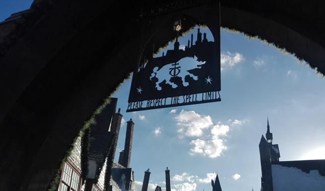 Hogsmeade Entrance Orlando