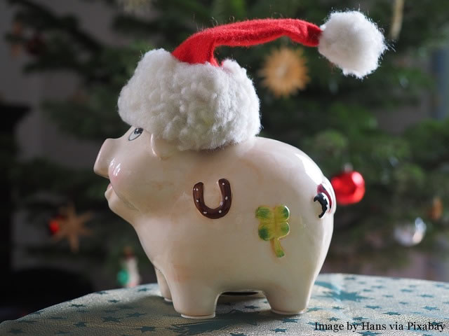 Saving Money Christmas