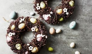 Waitrose Easter Wreaths 2018