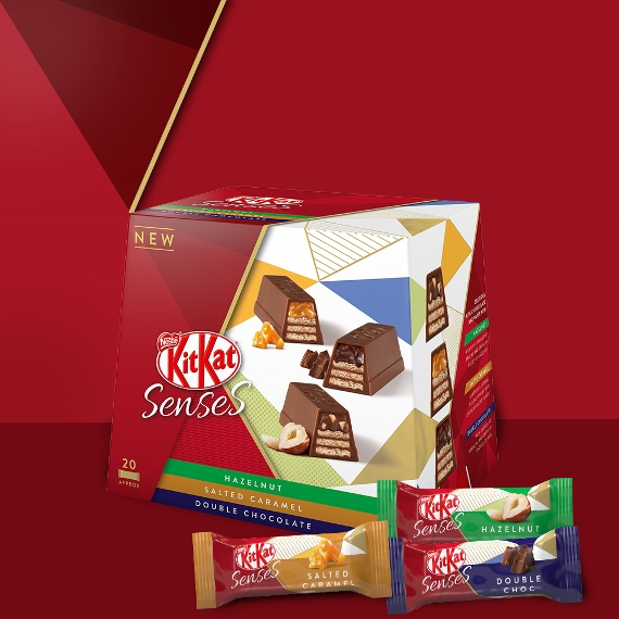 NEW Kitkat senses boxed chocolates
