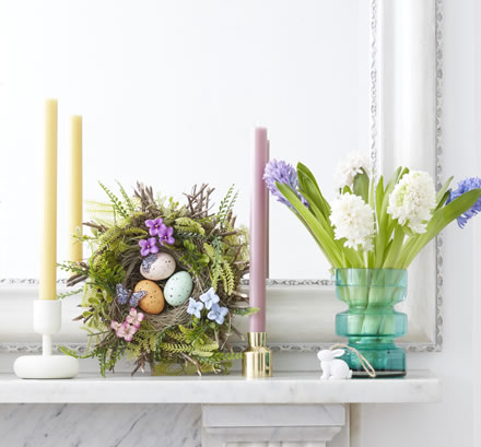 John Lewis Bright Easter Floral Wreath