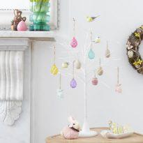 John Lewis white Easter decorative tree