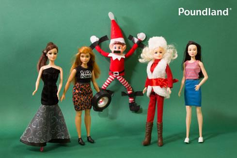 Poundland Elf ads 2017