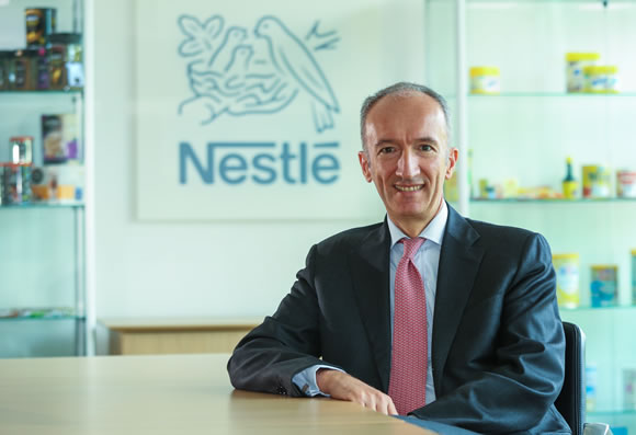 Stefano Agostini, CEO of Nestlé UK & Ireland