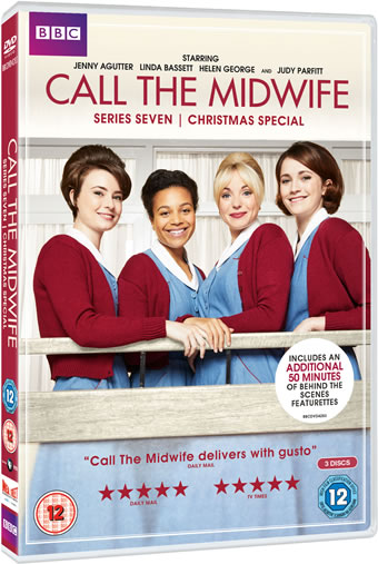 BBC Calll The Midwife Series 7 Christmas special DVD
