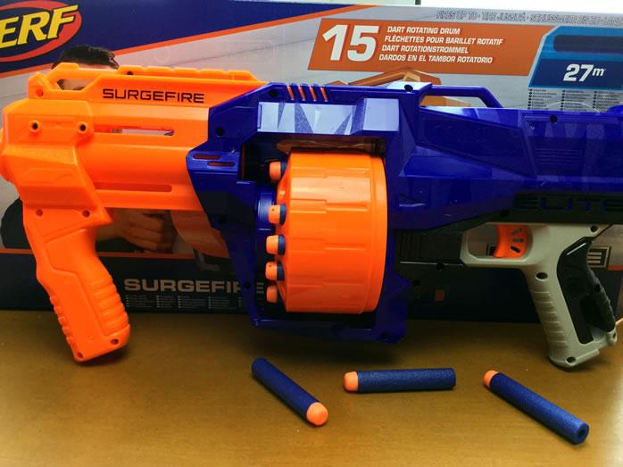 Nerf Surgefire Gun