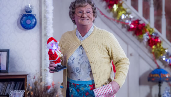 Mrs Brown's Boys Christmas Show in 2017