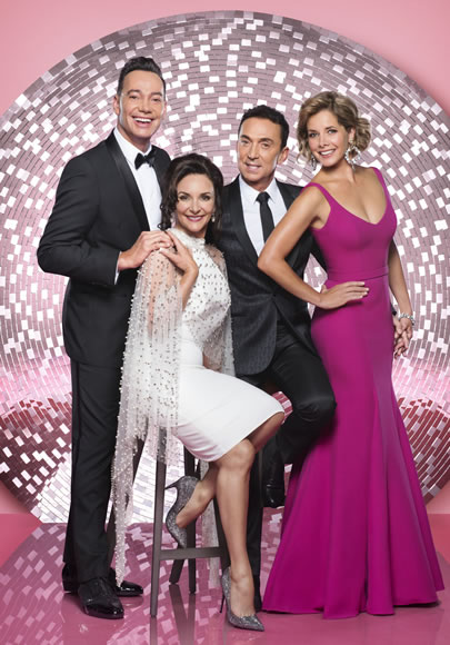 Strictly Come Dancing Judges 2018