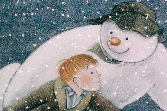 The Snowman artwork from Royal Albert Hall
