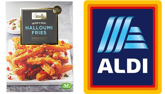 Aldi Specially Selected Hallumi Fries