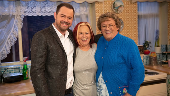 All Round To Mrs Brown's - Danny Dyer and his mum