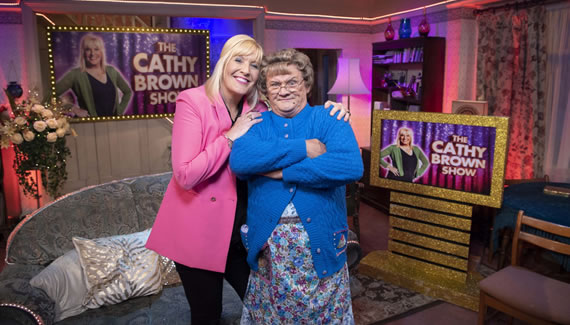 BBC one All Round To Mrs Brown's