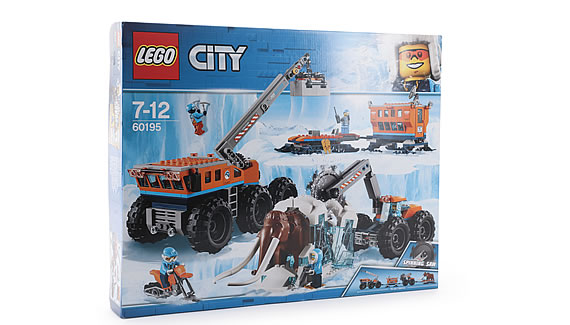 LEGO CITY ARCTIC MOBILE EXPLORATION BASE - Top Toys 2018