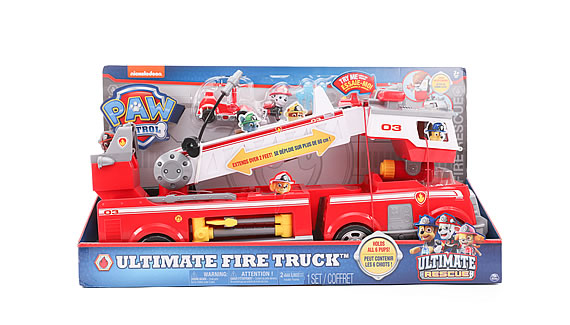 PAW PATROL RESCUE FIRE TRUCK PLAYSET - Top Toy 2018