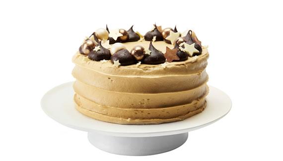 Waitrose Waitrose Chocolate & Toffee Wreath Cake Christmas 2018