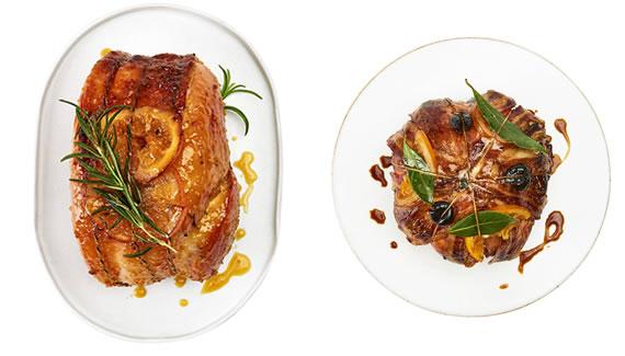 Waitrose main centrepiece foods