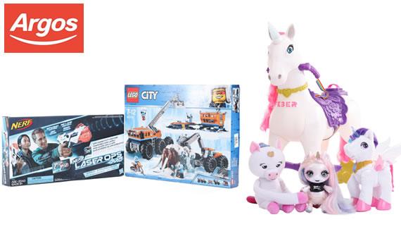 Argos Christmas top toys 2018
