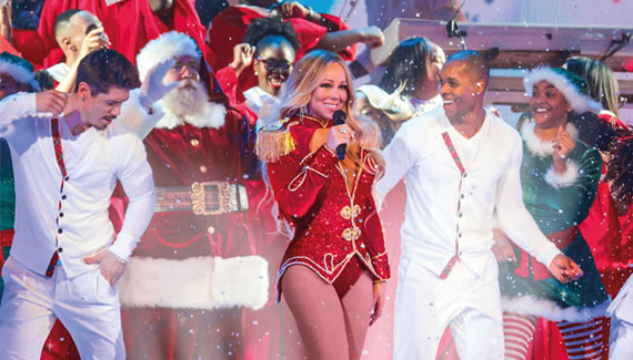 Mariah Carey's All I want For Christmas Tour