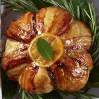 Extra Special Turkey Parcel with Spiced Apricot Stuffing and Maple & Clementine Glaze
