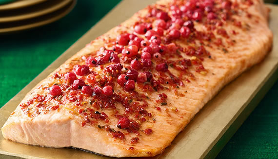 Morrisons The Best Scottish Salmon side with Prosecco & Redcurrants Christmas 2018