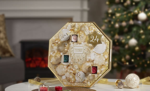 Yankee Candle Gold Advent Calendar