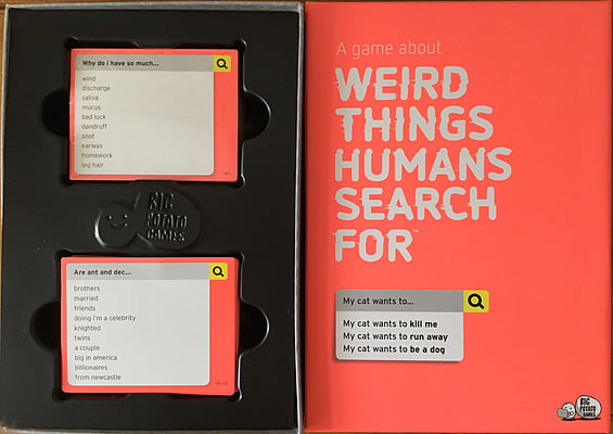Christmas Gift Review 2018: Big Potato Games Weird Things Humans Search For