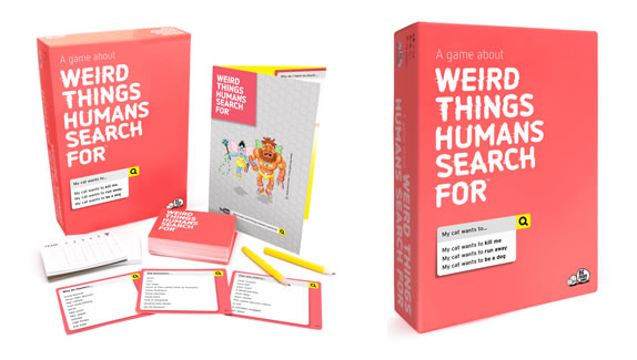 WIN: Big Potato Games Weird Things Humans Search For game