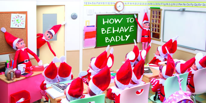 Elves Behaving Badley Image