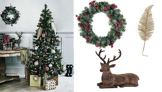 Sainsbury's Christmas 2018 Trends - Woodland