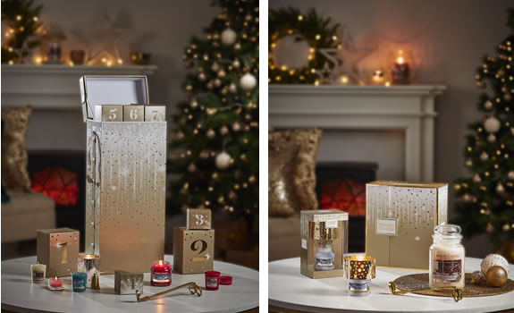 Yankee Candle Tower Advent Calendar and Votive sets 2018
