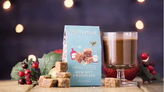 Buttermilk Rum Hot Chocolate