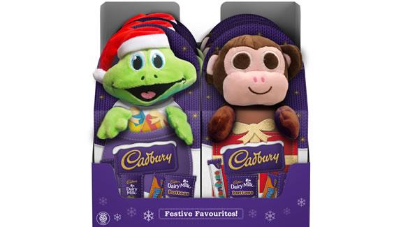 Cadbury Plush Toys - New Christmas 2018