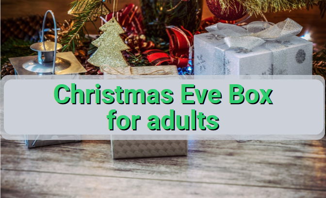 Christmas Eve box for adults