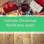Harrods 2018 Christmas World has officially opened