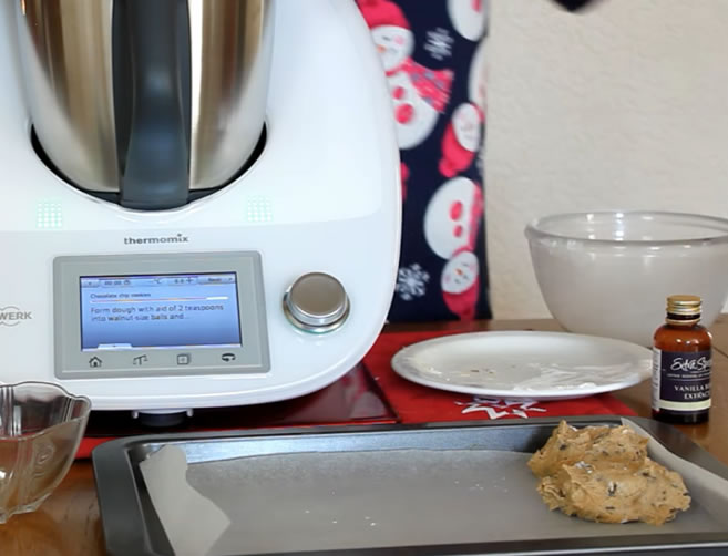 Image of cookie dough from Thermomix