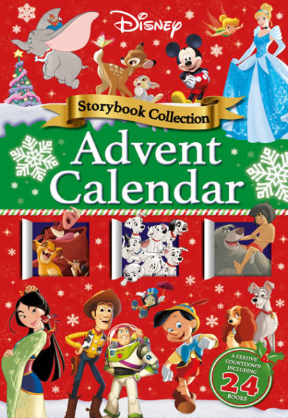 disney release storybook advent calendar. Black Bedroom Furniture Sets. Home Design Ideas