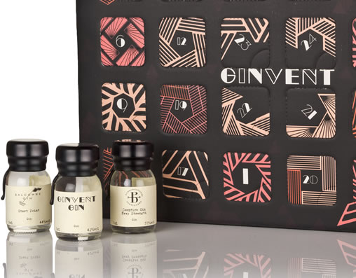 Image Of Gins Included In Ginvent Advent Calendar