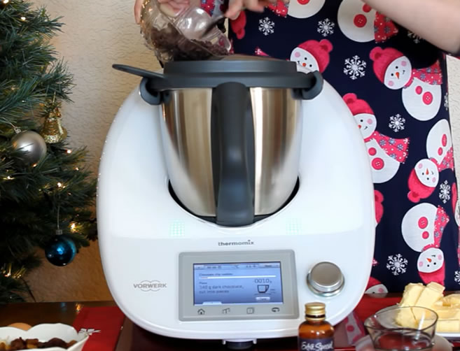 Image of Thermomix being used