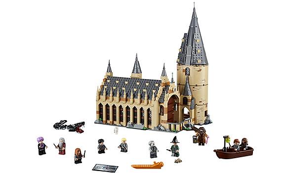 Lego Harry Potter Hogwarts Castle Figures