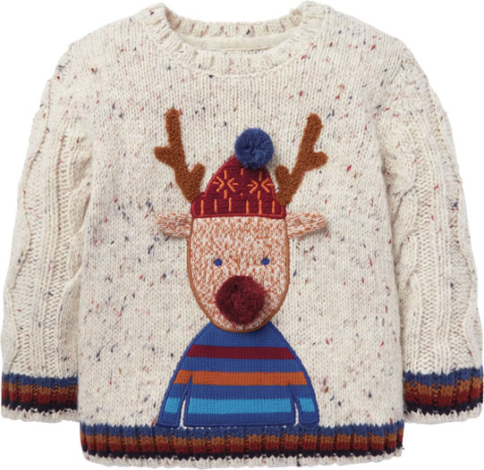 Marks and Spencer Reindeer Childrens jumper