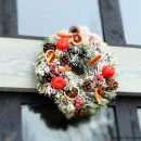 Image of Christmas crafting Wreath