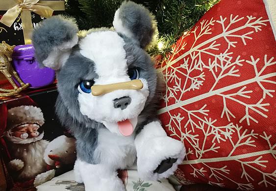 Hasbro's FurReal Ricky the Trick-Lovin' Pup