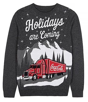 NEXT Next Coca-Cola Christmas Jumper £36