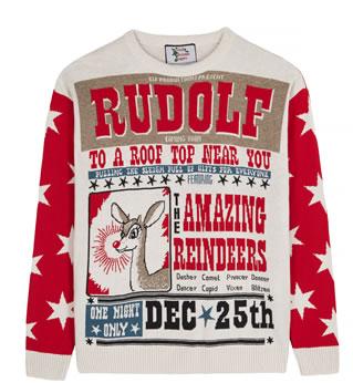 Rudolf jumper British Christmas workshop at Amazon