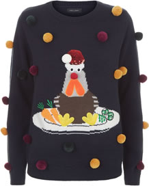 Turkey Christmas Jumper AW18 GBP 22.99 - Christmas Jumpers 2018