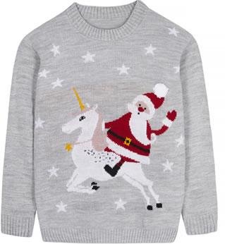 Unicorn Christmas jumper - Mela at Amazon Fashion